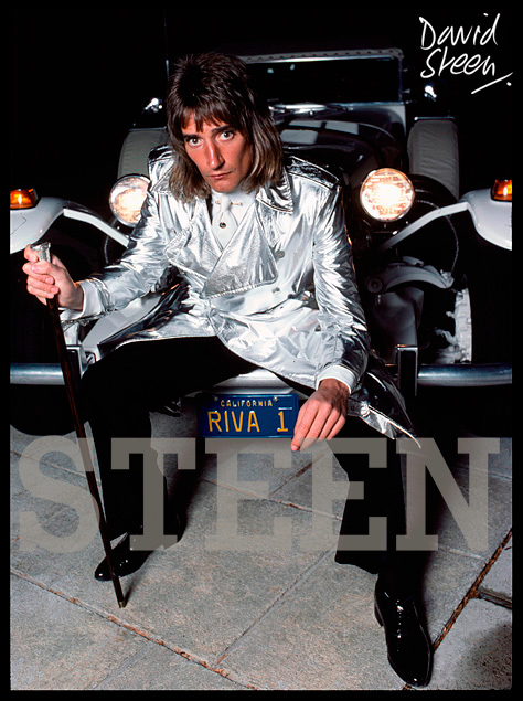 ROD STEWART, BEVERLY HILLS, LOS ANGELES, MARCH, 1976