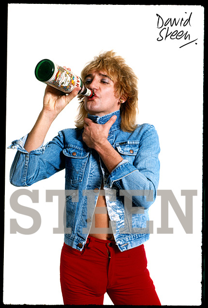 ROD STEWART, LONDON, JANUARY, 1978