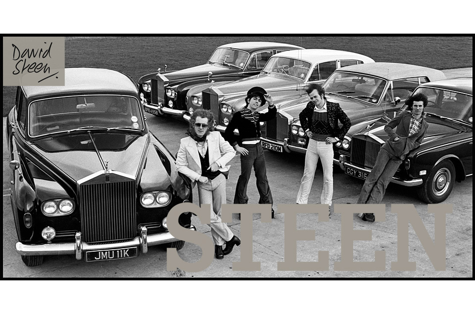 SLADE, ENGLAND, FEBRUARY, 1975