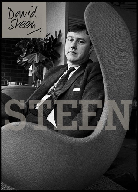 TERENCE CONRAN, 7, FULHAM ROAD, LONDON, NOVEMBER, 1964