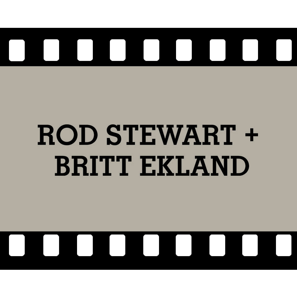 ROD STEWART & BRITT EKLAND VIDEO