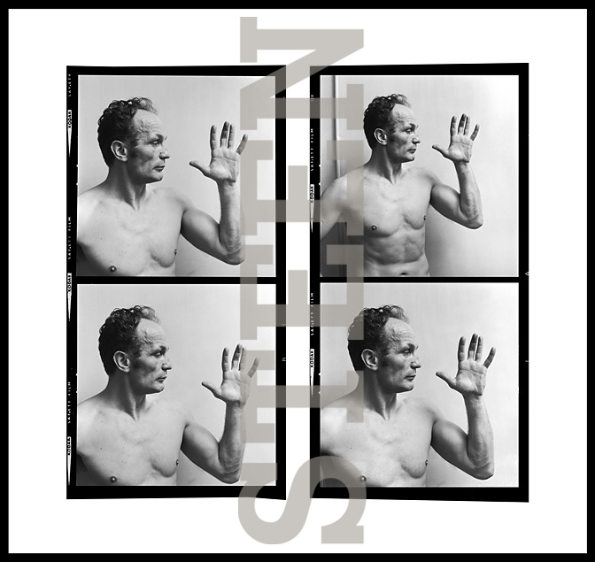 HENRY COOPER, CONTACT SHEET, LONDON, 1971