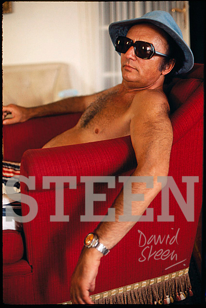 HAROLD ROBBINS, CANNES, SOUTH FRANCE, JULY, 1972