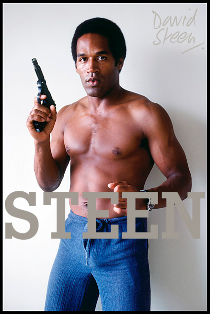 O.J. SIMPSON, ANTIGUA, JUNE, 1978