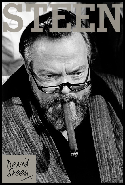 ORSON WELLES, ENGLAND, OCTOBER, 1972