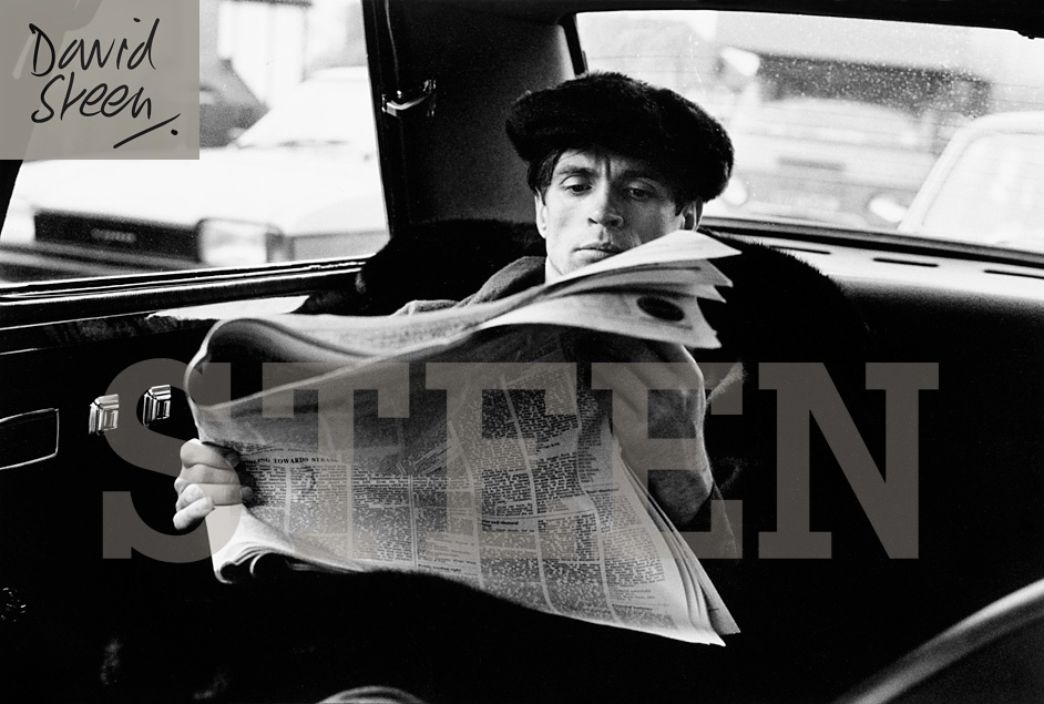 RUDOLF NUREYEV, CROMWELL ROAD, LONDON, OCTOBER, 1976