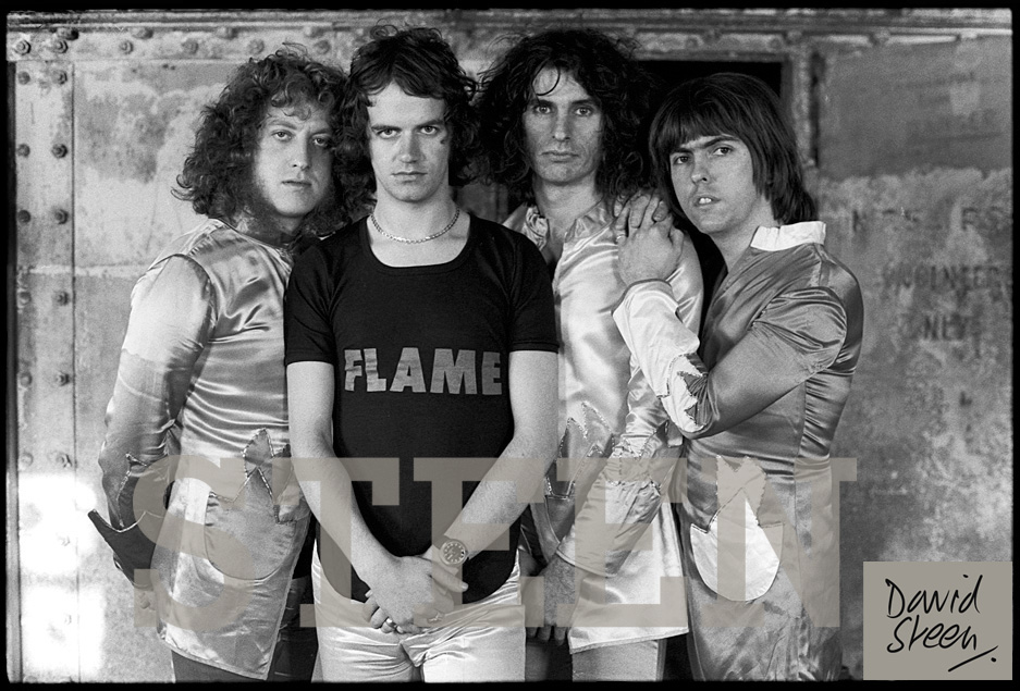 SLADE, ENGLAND, SEPTEMBER, 1974